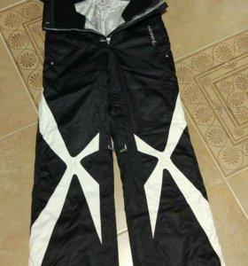 Горнолыжные штаны на подтяжках