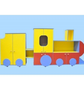 Стенка детская «Весёлый паровоз»