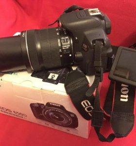 Фотоаппарат Canon 650 D