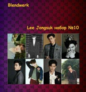 мини-набор наклеек k-pop LEE JUNGSUK