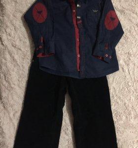 Рубашки и брюки на мальчика