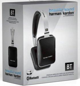 Наушники Harman Kardon BT Wireless black