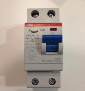 Выключатель тока УЗО ABB F202AC2