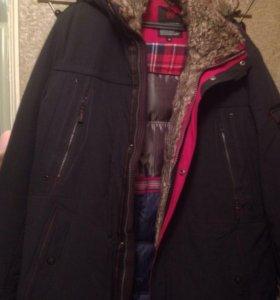Куртка зимняя мужская новая 58 размер