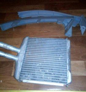 Радиатор для печки,подставки для фар