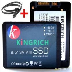SSD KiNGRICH K9 на 60Gb