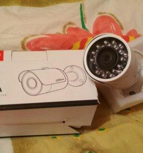 Alhua видеорегистратор с двумя камерами