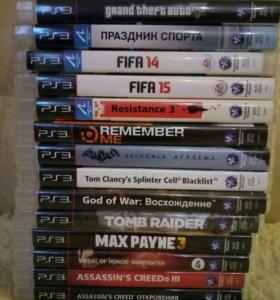 Диски продам б/у PlayStation 3 от