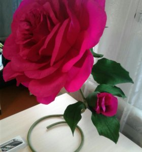 Роза объёмная