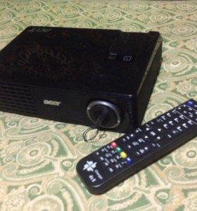 Цифровой видеопроектор Acer X1160+пультДУ универс.