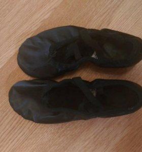 Туфли для народного танца, мягкие
