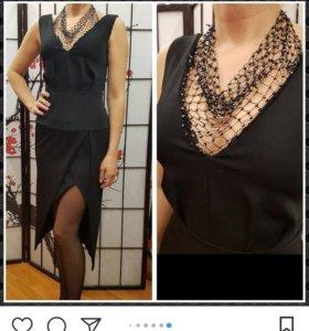 Новое нарядное платье под Balmain