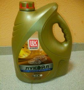 Лукойл люкс 5 литров 5w-40