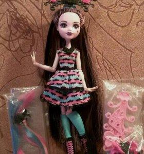 Кукла Monster High Дракулаура «Party Hair»