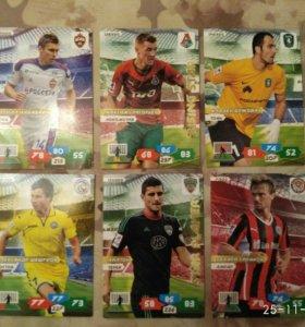 Карточки Panini Российская футбольная премьер-лига