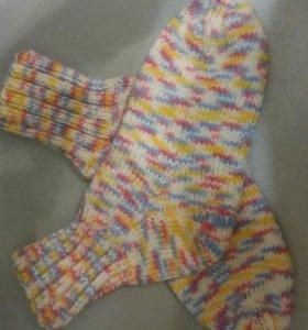 Носочки ручной вязки