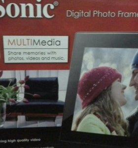 """VievSonic digital photo frame VFM 1036 w-51 10"""""""