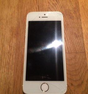 iPhone 5s (32gb) gold как плеер