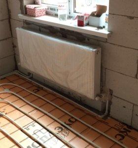 Отопления водоснабжения канализация.