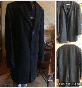Мужские кашемировые пальто, дубленка