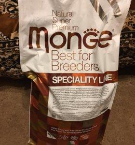 Корм для собак Monge (15 кг мешок, есть 2 мешка)