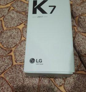 Корбка для LG K7