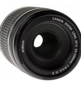 Продам объектив canon EF-S 55-250 mm f/4-5.6 IS II