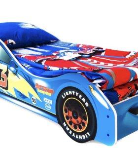 Машина-кровать детская
