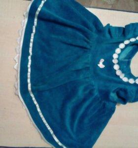 Платье детское 3 годика