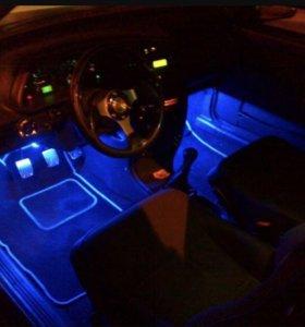 Подсветка на авто салон