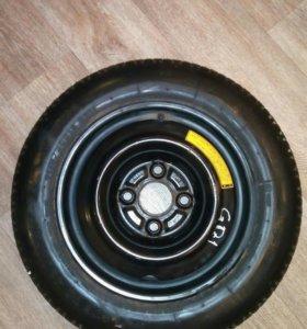 Запаска(банан)R13 115/90. 4*100