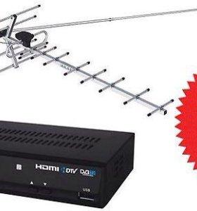 Тв антенны DVB-T-2 - без абонентской платы .