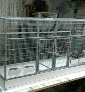 Вольеры и клетки для птиц