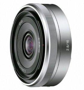 Объектив Sony 16mm f/2.8E (SEL-16F28)