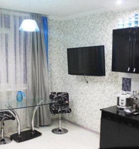 Квартира, 1 комната, 48.5 м²
