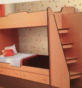 Кровать 2хярусная
