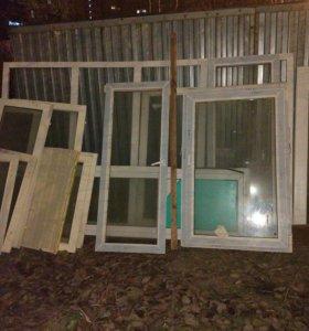 Рамы и окна, пластиковые и деревянные