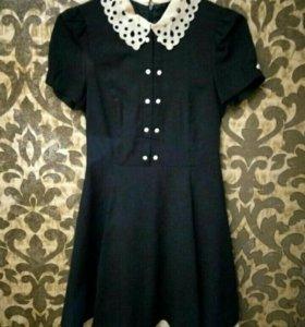 Платье темно-синее (xs-s)