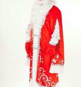 Костюмы Дед Мороз и Снегурочка. Прокат и продажа.