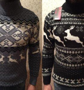 Рождественские шерстяные свитера. Размер S-M