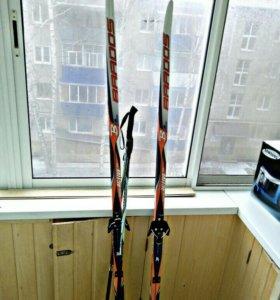 Лыжи пластиковые м/ж