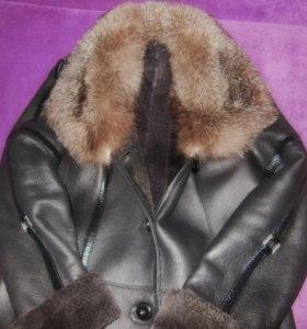 Дублёнка (кожаное пальто)