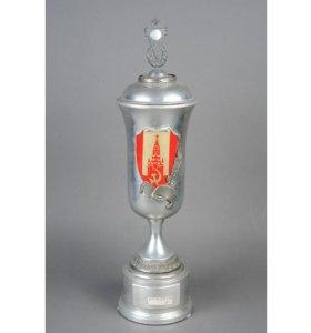 Кубок СССР Спасская башня высота - 44 см.