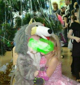 Новогодний костюм волк напрокат