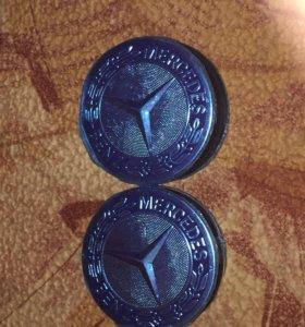 Колпачки ступицы для Mersedes Benz