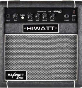 Гитарный комбоусилитель Hiwatt G-15 MaxWatt