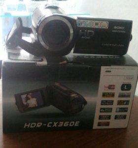 Видиокамера SonyHDR-CX360E И60