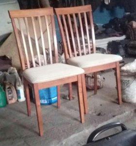 Стулья 2,стол, скобы такелаж4,5ton.2ton