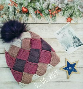 💖 ШАПКА зимняя, теплая, вязаная