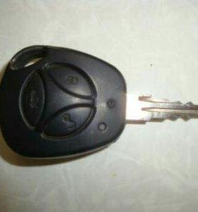 Готовый ключ Приора Калина
